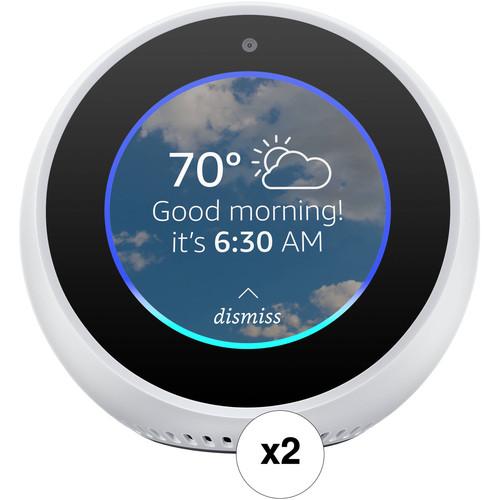 Amazon Echo Spot Pair Kit (White)