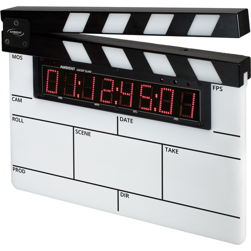 Ambient Recording ACN-LS Lockit Slate Modular Timecode Slate and Display