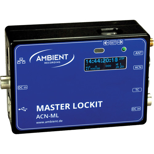 Ambient Recording Master Lockit ACN-ML Timecode Hub Transceiver