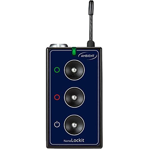 Ambient Recording NanoLockit Pro Kit Green for ALEXA, AMIRA, Blackmagic, Canon, Sony, VariCam