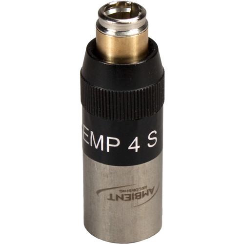 Ambient Recording EMP4SM Electret Microphone Power Adapter for Beyerdynamic Opus and MIPRO Microphones