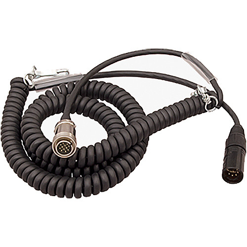 Ambient Recording 12-Pin Tajimi Male to 7-Pin XLR Male Coiled Breakaway Cable (4.5 to 16.4')