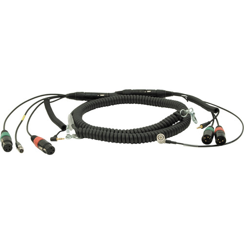 """Ambient Recording HBS552Y7-35 Coiled Mixer Cable for SD 552 Mixer (70.8 to 157.4"""")"""
