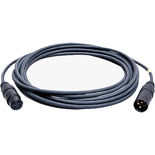Ambient Recording MK8 3-Pin XLR Female to 3-Pin XLR Male Microphone Cable (26.24', Black)