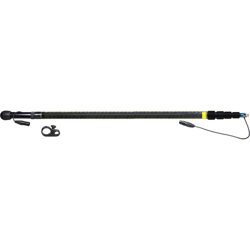 Ambient Recording QX5100-CCM Quickpole Light Boom Pole with 3-Pin Mono XLR Wiring (14')