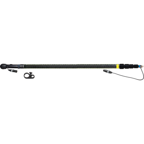 Ambient Recording QX5100-CCS Quickpole Light Boom Pole with 5-Pin Stereo XLR Wiring (14')