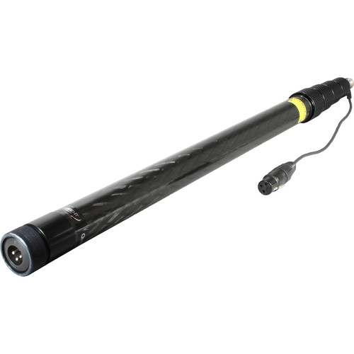 Ambient Recording QX565-CCMI Quickpole Light Boom Pole with 3-Pin Mono XLR Wiring (9.5')