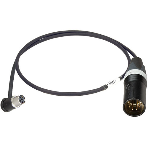 """Ambient Recording Receiver Slot V-Mount Chassis with 5-Pin XLR Male Connection Cable (25.6"""")"""
