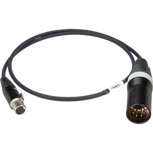 """Ambient Recording VSL-X5 TA5F to XLR-5 Male Cable for V-Slot/Arri Alexa System (7.9"""")"""
