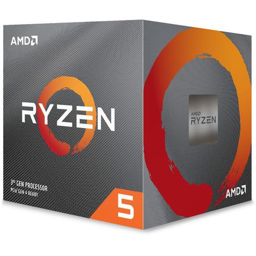 Procesador AMD Ryzen 5 3600X 3.8 GHz de seis núcleos AM4