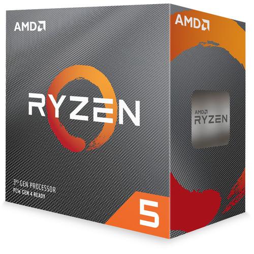 AMD Ryzen 5 3600 3.6 GHz Six-Core AM4 Processor