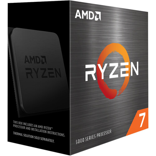 AMD Ryzen 7 5800X 3.8 GHz Eight-Core AM4 Processor