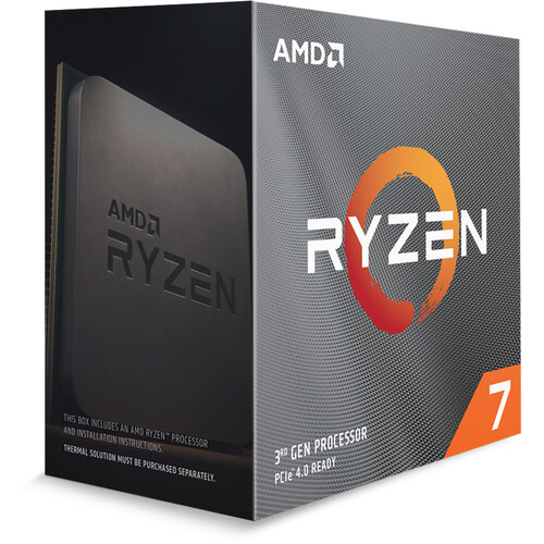 AMD Ryzen 7 3800XT 3.9 GHz 8-Core AM4 Processor