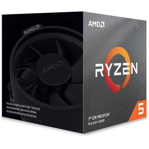 AMD Ryzen 5 3600XT 3.8 GHz 6-Core AM4 Processor
