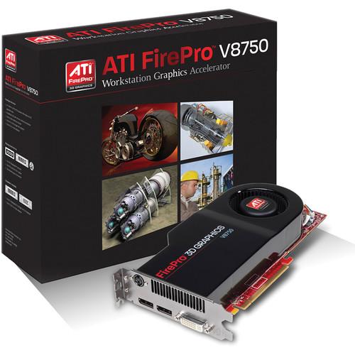 AMD ATI FirePro V8750 Graphics Card
