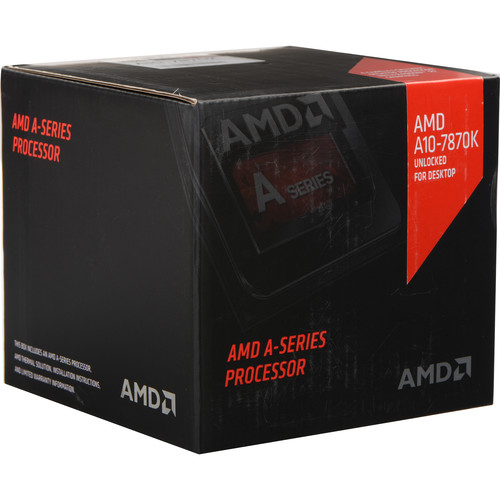AMD A10-7870K 3.9 GHz Quad-Core FM2+ Processor