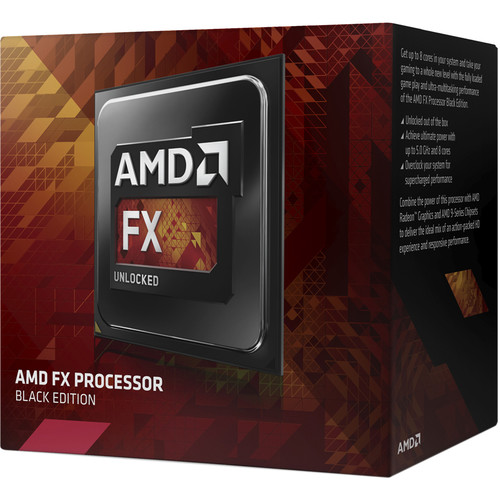 AMD 8-Core FX 8350 4 GHz Processor