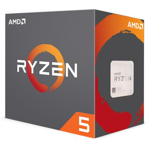 AMD Ryzen 5 1600X 3.6 GHz Six-Core AM4 Processor