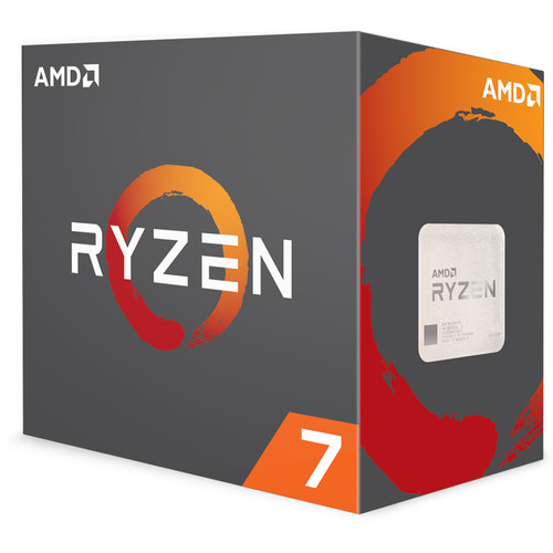 AMD Ryzen 7 1700X 3.4 GHz Eight-Core AM4 Processor