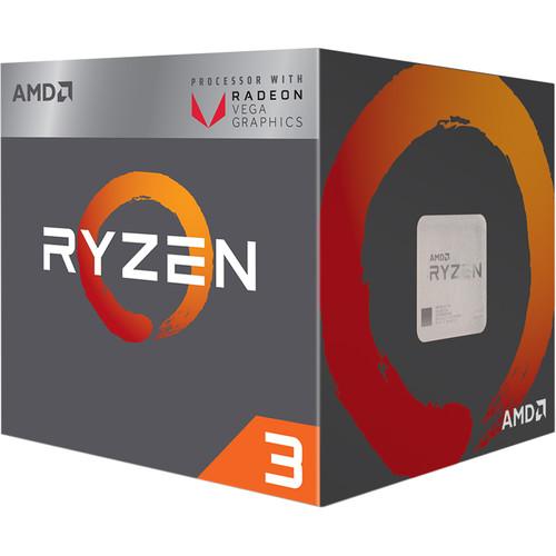 AMD Ryzen 3 2200G 3.5 GHz Quad-Core AM4 Processor