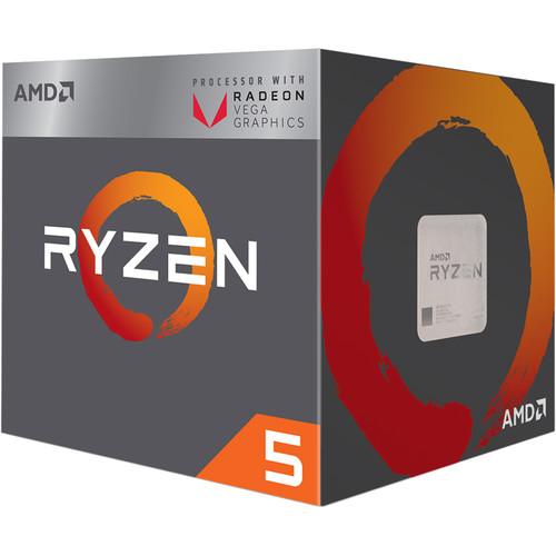 AMD Ryzen 5 2400G 3.6 GHz Quad-Core AM4 Processor
