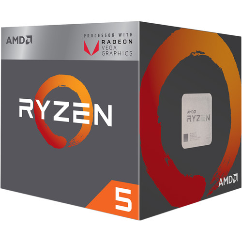 AMD Ryzen 5 2400G 3.6 GHz Quad-Core AM4 Processor