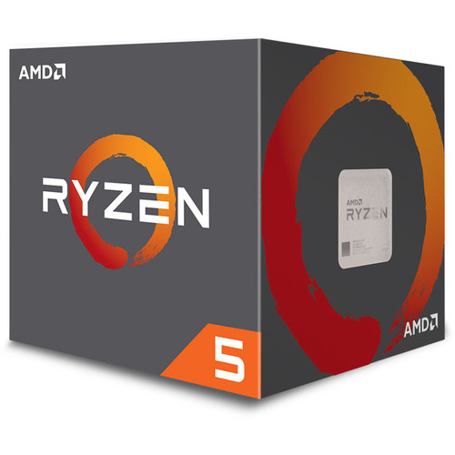 AMD Ryzen 5 2600X 3.6 GHz Six-Core AM4 Processor