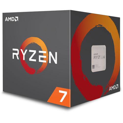 AMD Ryzen 7 2700 3.2 GHz Eight-Core AM4 Processor