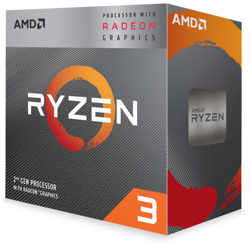 AMD Ryzen 3 3200G 3.6 GHz Quad-Core AM4 Processor
