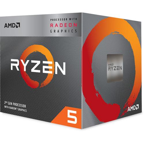 AMD Ryzen 5 3400G 3.7 GHz Quad-Core AM4 Processor