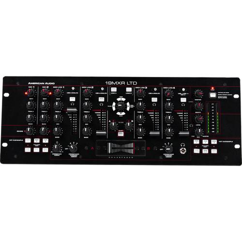 American Audio 19 MXR LTD 4-Channel MIDILOG Mixer with Analog/MIDI Control