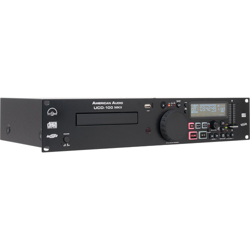 American Audio UCD-100 MKII CD/USB MP3 Player and USB Recorder