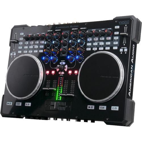 American Audio VMS5.0 DJ MIDI Controller/Analog Mixer