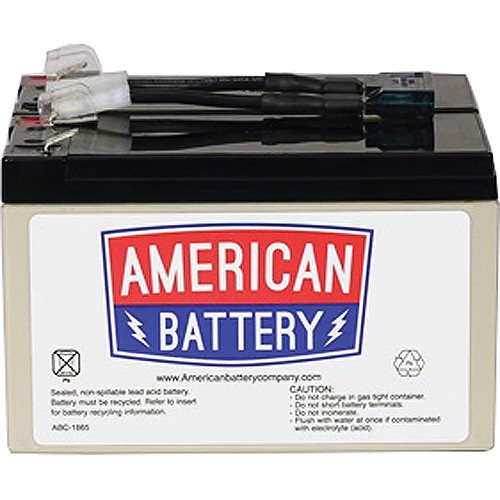 American Battery Company UPS Replacement Battery RBC9