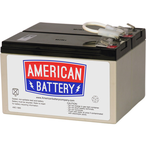 American Battery Company UPS Replacement Battery RBC109