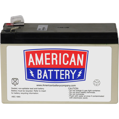 American Battery Company UPS Replacement Battery RBC17