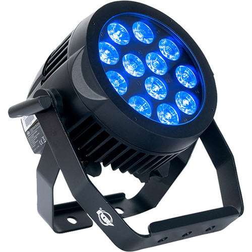 American DJ 12P HEX IP Heavy-Duty RGBAW+UV LED Wash Light (IP65)