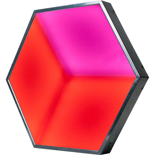American DJ 3D Vision - Hexagonal RGB LED Panel