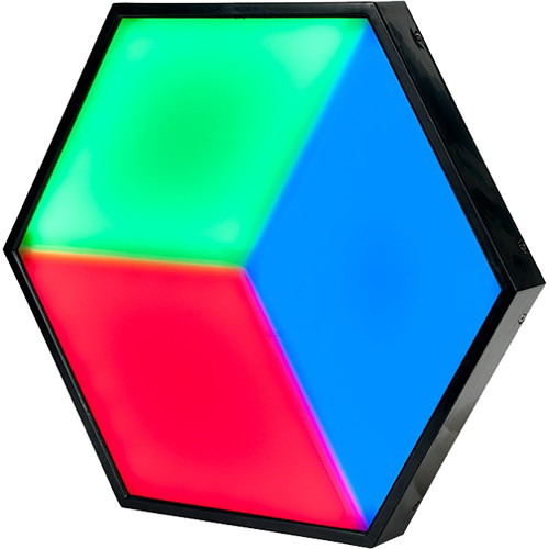 American DJ 3D Vision Plus Hexagonal RGB LED Panel