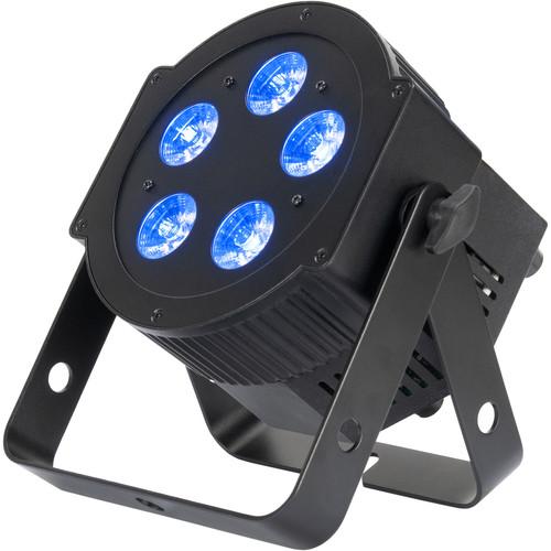 American DJ 5PX HEX LED Par Fixture (RGBAW+UV, Black)