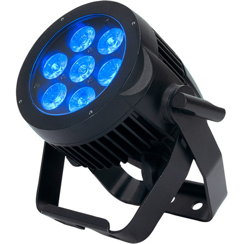 American DJ 7P HEX IP Heavy-Duty RGBAW+UV LED Wash Light (IP65)
