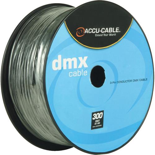 American DJ Accu-Cable 3-Pin DMX Cable Spool (300')
