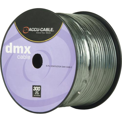 American DJ Accu-Cable 5-Conductor DMX Cable Spool (300')