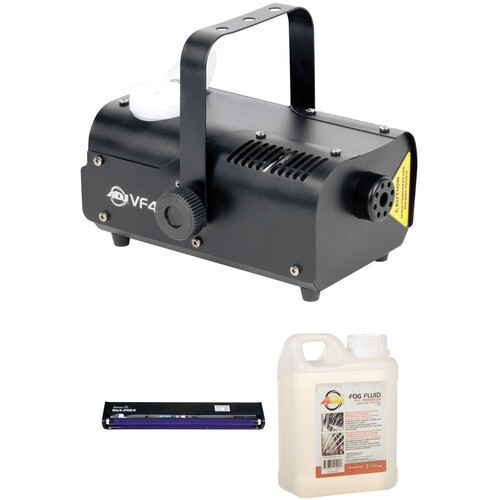 American DJ Atmospheric and Lighting Kit with VF400 Fog Machine, Black Light, and Fog Fluid
