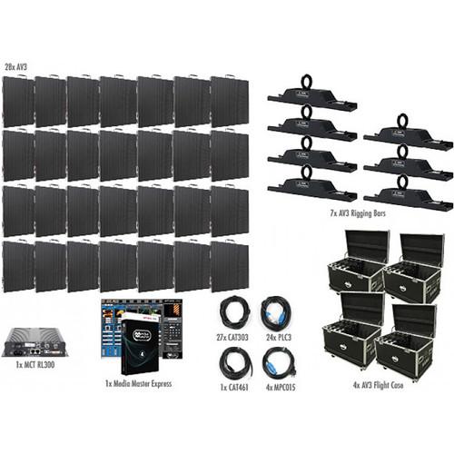 American DJ AV3 7x4 LED Video Wall Kit (28 Panels)