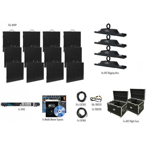 American DJ AV4IP Video Panel System (12 Panels)