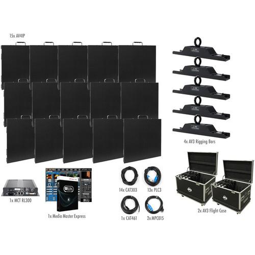 American DJ AV4IP Video Panel System (14 Panels)