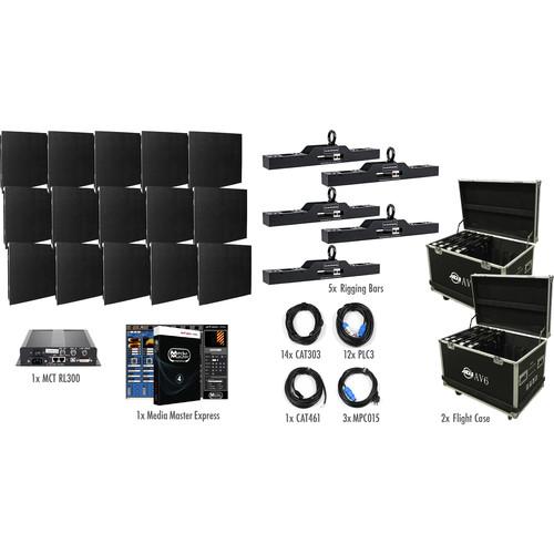 American DJ AV6X LED Video Wall Kit (15 Panels)