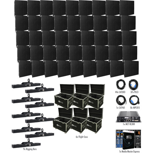 American DJ AV6X LED Video Wall Kit (45 Panels)