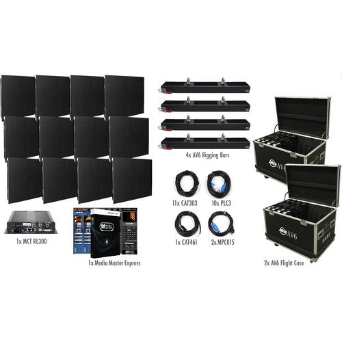 American DJ AV6X LED Video Wall Kit (12 Panels)